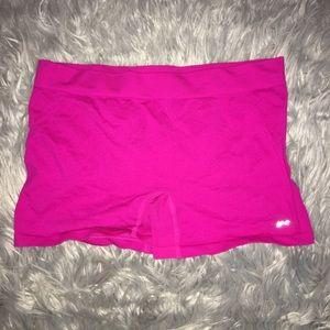 Pants - Pink stretchy spandex